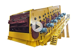 Gold Ore Vibrating Screen Working Site